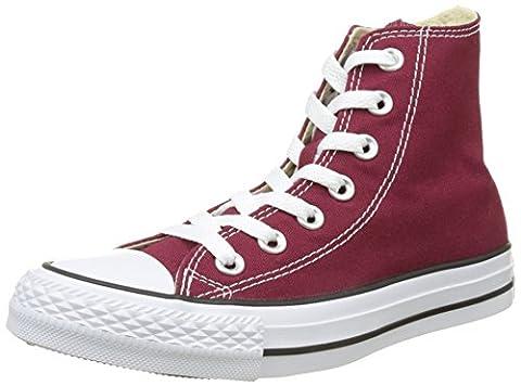 Converse Chuck Taylor All Star Core Hi, Baskets mode mixte adulte - Rouge (Bordeaux), 38 EU