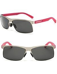 b261b2d70382a bagland Marco de metal polarizadas de protección UV400 tac lentes Gafas de sol  para conducir