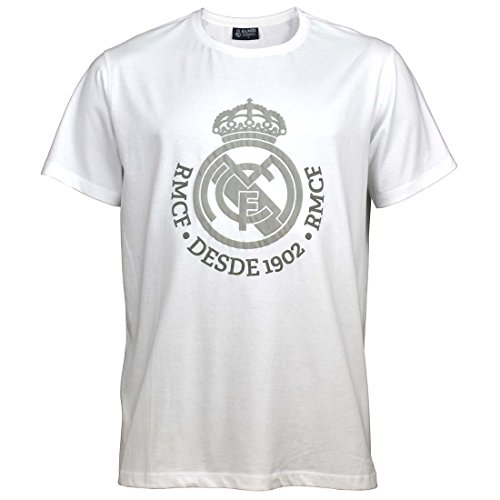 Real Madrid Camiseta ESTAMP. Nº 1 Blanco T-S