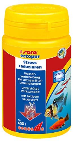 sera 02320 ectopur 130 g - Unterstützt die Arzneimittelwirkung bei äußerlichen Erkrankungen und mindert Stress