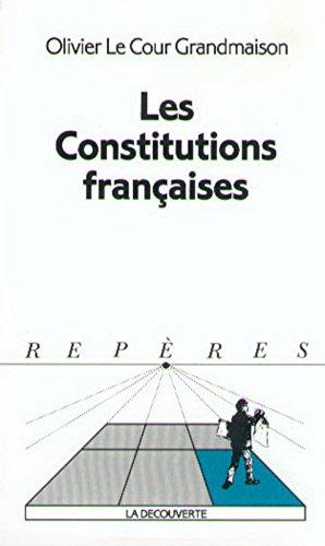 les-constitutions-franaises
