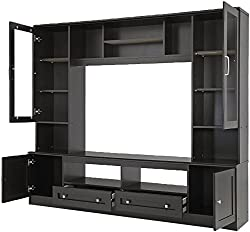 Royal Oak Berlin Entertainment Unit (Dark Finish)