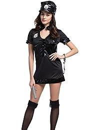 Women's Anzug Halloween Kostüm Polizist