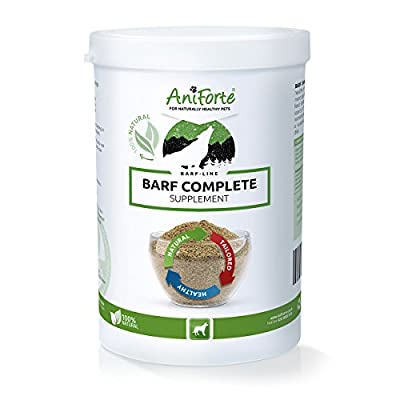 AniForte BARF Complete 500 g for Dogs, High Quality and Natural Barf Supplement with Minerals and Vitamins, Gluten Free, Raw Food Diet