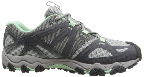 Merrell Grassbow Air Trail Running Shoe Granite/Mint