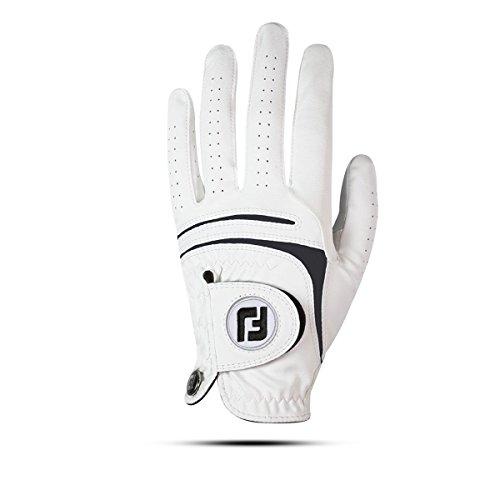 FootJoy WeatherSof Handschuh von Golf, Mann XXL weiß (Leder Linkshänder Golf Handschuh)