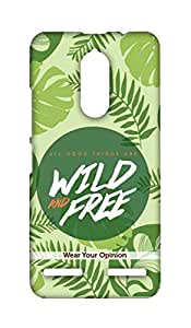 Wires Wild and Free - Sublime Case for Lenovo K6 Power Back Case for Lenovo K6 Power (Multicolor)