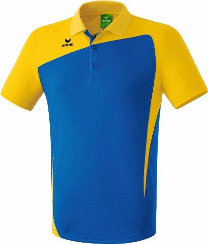 Erima Oberkörper-Bekleidung Club 1900 Poloshirt new royal/gelb