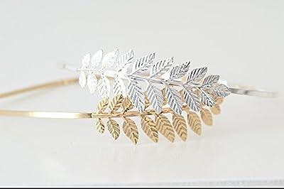 Serre tête de mariage - serre tête feuilles - Safiia - Bridal headpieces- bridal headband - Leaf headband - Serre tête Nature - bridal hair headband - Headpiéce-