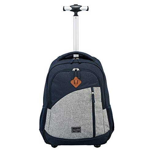 Travelite Basics 2-Rollen Rucksacktrolley 47 cm Laptopfach - 6