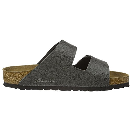 Birkenstock Womens Arizona Synthetic Sandals Anthracite