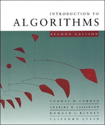Introduction to Algorithms by Thomas Cormen (2003-12-16)
