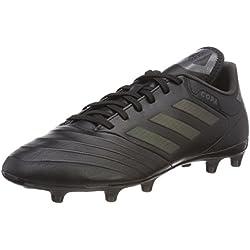 Adidas Copa 18.3 Fg, Scarpe da Calcio Uomo, Nero (Negbas/Neguti 000), 42 EU