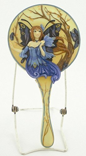 Peacock Fairy Hand Mirror by PTC