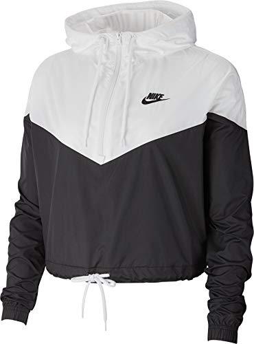Nike Damen W NSW HRTG JKT WNDBRKR Jacket, Black/White, S