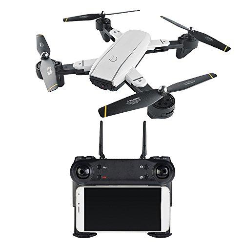 Beautyrain SG700 Faltbare RC Mini Drone, 2.4G 6 Achsen Gyro Kamera RC Quadcopter -Altitude Hold, One Key Start/Landung, 3D Flip, Headless-Modus