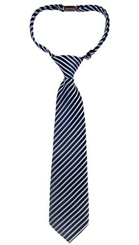 Retreez moderno rayas Tejido microfibra PRE-TIED Boy de corbata–varios colores