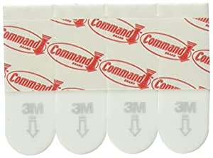 Command 17024 Poster Mounting Adhesive Strips - White, Pack of 1