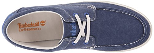 Timberland EK Hookset Camp FTM Boat Ox with Striped Rand Herren Sneakers Blau (Blue)