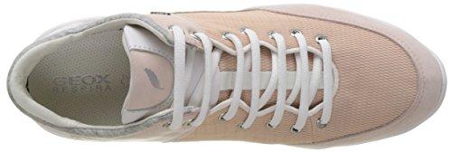 Geox Damen D Sfinge A Sneakers Pink (LT PINKC8010)