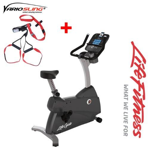 C3 Track Life Fitness Ergometer - Modell 2013/ 2014 - inkl. Vario Sling- Trainer