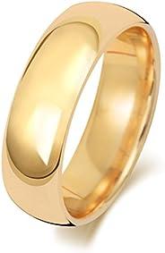 Anello Fede Nuziale Uomo/Donna 6mm in Oro giallo 18k (750) WJS1887618KY