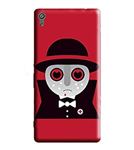 HiFi Designer Phone Back Case Cover Sony Xperia XA :: Sony XA :: Xperia XA F3111 F3113 F3115 ( Devil Doctor Cute Docuter Psyed Doctor )