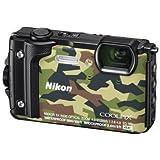 Nikon COOLPIX W300 Digitalkamera (16 Megapixel, 5-fach optisches Zoom, 7,6 cm (3 Zoll) LCD-Display, 4K UHD Video, bildstabilisiert) camouflage