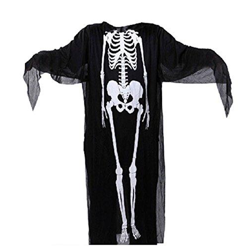 Imagen de thee disfraces de esqueleto para halloween skeleton fancy dress costume niños