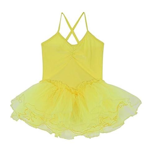 Costumes De Danse Vêtements - Brightup Fille Enfant Costumes de danse Justaucorps