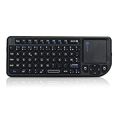 iClever® 2.4GHz Mini clavier sans-fil (wireless) - AZERTY -