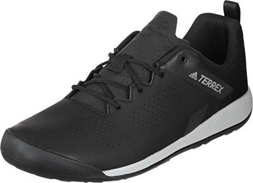 adidas Herren Terrex Trail Cross Curb Mountainbike Schuhe, Schwarz (Cblack/GREONE Cblack/Cblack/GREONE), 41 1/3 EU