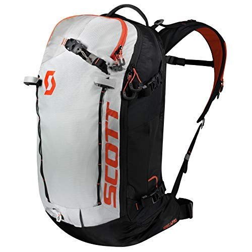 Scott Backcountry Patrol AP 30 Rucksack, weiß (Schwarz/Tangerine Orange), 60 x 28 x19 cm, 30 L