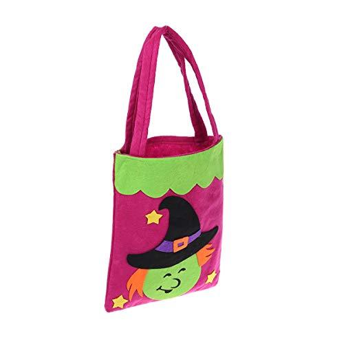 Office Themen Kostüm - Toyandona Halloween-Hexentüte für Süßigkeiten, Süßigkeiten-Aufbewahrungstasche, Halloween-Kostüm, Kinder, zum Verkleiden von Partys