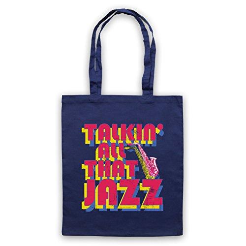 Inspiriert durch Stetsasonic Talkin All That Jazz Inoffiziell Umhangetaschen Ultramarinblau