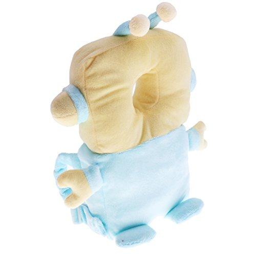 Prettyia Baby Walking Kopf Rückenschutz Protector Kopfschutz Kissen Baby Schutz - Roboter - Walking-spielzeug-roboter