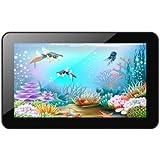 Xoro PAD 900 22,8 cm (9 Zoll) Tablet-PC (Cortex A9, 1,2GHz, 1GB RAM, 8GB Flash Speicher, WLAN, BT, USB, Android 4.2) inkl. Ständer und Softstoff-Schutzhülle schwarz