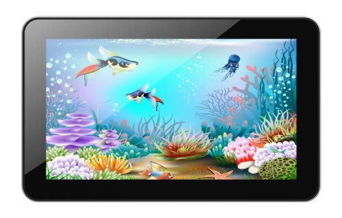 Xoro PAD 900 22,8 cm (9 Zoll) Tablet-PC (Cortex A9, 1,2GHz, 1GB RAM, 8GB Flash Speicher, WLAN, BT, USB, Android 4.2) inkl. Ständer und Softstoff-Schutzhülle schwarz Skype-usb-flash -