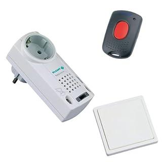 Pflegeruf-Set mit QUITTIERUNGSFUNKTION und Quittierungs-Sender. Speziell für Parkinson-Kranke und die Pflege Bettlägeriger