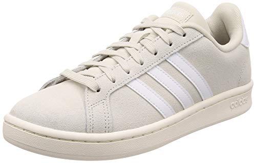 Adidas Grand Court, Damen Hallenschuhe, Mehrfarbig (Blapur/Ftwbla/Blanub 000), 39 1/3 EU (6 UK)
