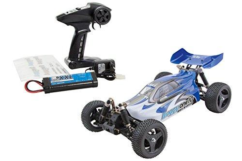RC Buggy kaufen Buggy Bild 1: XciteRC 30321000 - ferngesteuertes RC Auto One10 Buggy 4WD Brushless, blau*