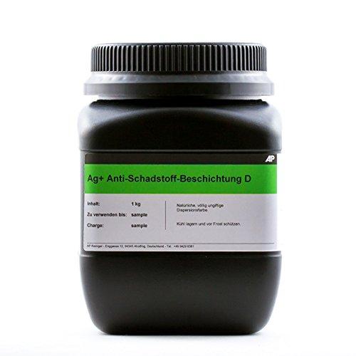 Ag+ Anti-Schimmel-Beschichtung/Anti-Schadstoff-Beschichtung D, 1kg, chlorfreie Farbe gegen Schimmel und für eine reine Raumluft