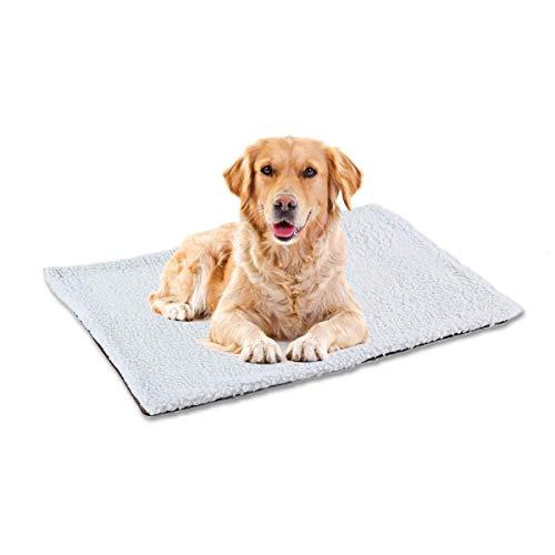 AOLVO Pet Heating Pad Ultra Soft Langlebige, Selbstwärmende Matte, Waschbar Durable Thermal Pet Pad für Hunde und Katzen, Kein Strombedarf, Verwendung in Innenräumen -