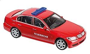 Welly 10077874-Bomberos de Auto, Vehículo, 1: 43, Color Rojo