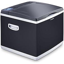 DOMETIC CK40D HYBRID Glacière-Conservateur portable, 38L, 12/230V, AC : +10°C à -15°C - DC 20°C en dessous de la température ambiante, p515xh454xl520mm, Norme FR, [Classe énergétique A+]