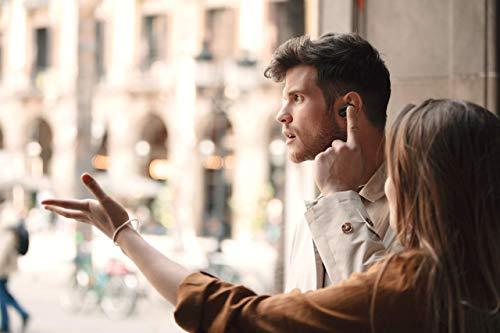 Sony WF-1000XM3 True Wireless Noise Cancelling Kopfhörer (bis zu 32h Akkulaufzeit, stabile Bluetooth Verbindung, Amazon Alexa, komplett kabellose Earbuds incl. Ladecase) schwarz - 13