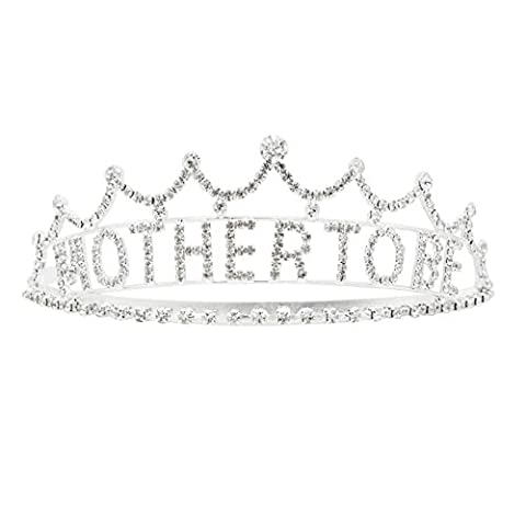 Rosemarie Collections Women's Mother to Be Baby Shower Crown Tiara