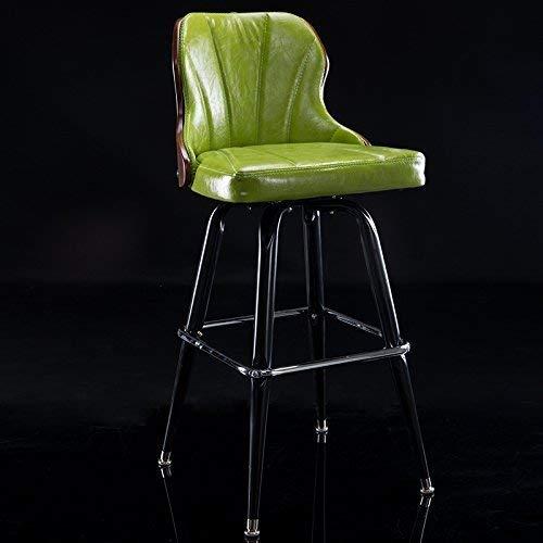 WJSWDZ Ende Europäischen Stil Eisen bar bar stühle Retro massivholz bar stühle rückenlehne bar Stuhl rezeption drehhocker von DRM -