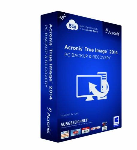 Image-backup (Acronis True Image 2014)