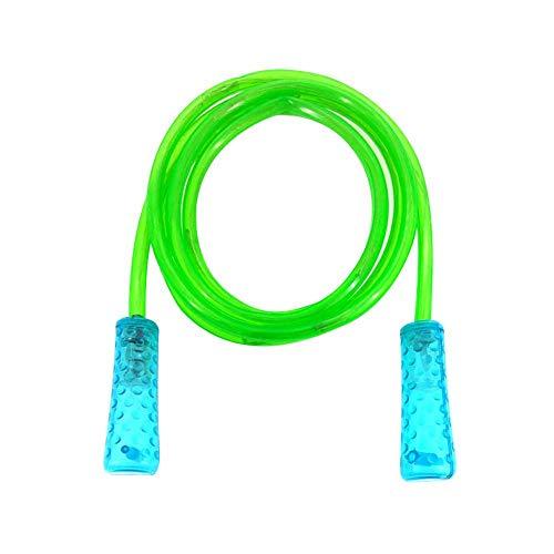 cheerfulus LED-Springseil für Kinder, Erwachsene, Fitness-Ausrüstung, grün